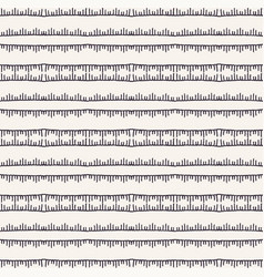 Decorative embroidery stitching stripes pattern vector