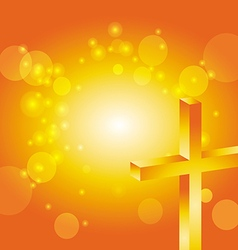 Easter jesus cross background 4 vector