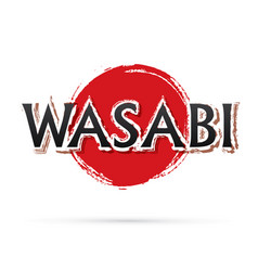 Wasabi text vector