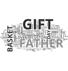 What will you gift your father on father s day vector