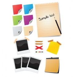 office stationery vector image