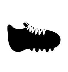 Cleat or football boot icon image vector