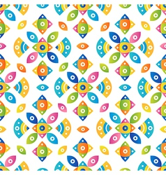 Colorful tileable pattern background vector