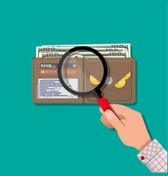 check the financial stability vector image