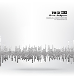 Abstract background Ligth grey equalizer bar and vector