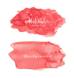 abstract watercolor background vector image