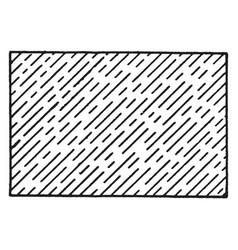 aluminum metal in crust vintage engraving vector image