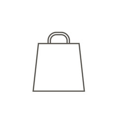 bag for going shopping icon simple element from vector image