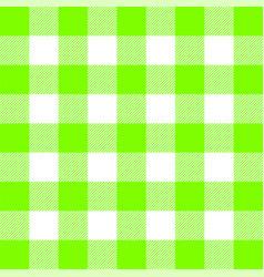 buffalo plaid ufo green tartan scottish cage vector image