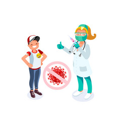 Coronavirus vaccine treatment vector