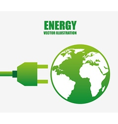 energy power design vector image