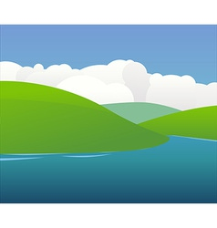 Irish Landscape vector image