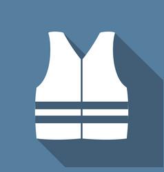 Life vest vector