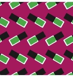 Nail polish seamless pattern 4 vector image