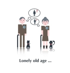 Old People icon vector