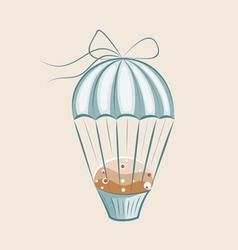 Parachute muffin vector