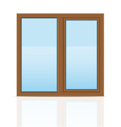 plastic window 08 vector image