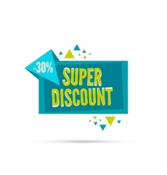 special offer discount vector image