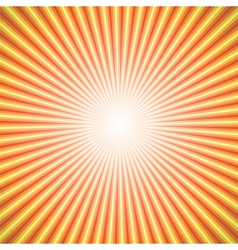 star burst orange vector image