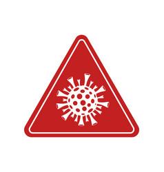 Stop coronavirus sign covid-19 quarantine vector