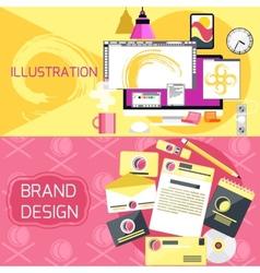 Web design concept vector