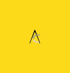 Ac three colors vector