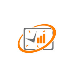 business 24 hours management vector image