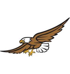 Eagle logo mascot vector