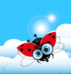 Ladybug in the Sky vector
