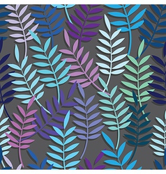 Leaf floral abstract seamless vector image