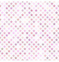 pink seamless star pattern background - design vector image