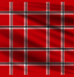 red plaid lumberjake plaid black and red tartan vector image