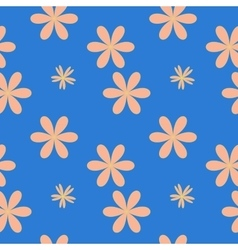 Flower pastel seamless pattern vector image vector image