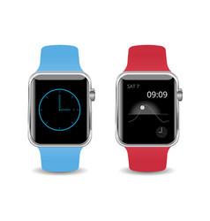 smart watch isolated vector image