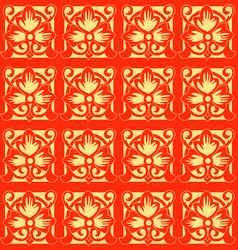 abstract chinese new year background vector image