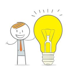 big creative idea vector image