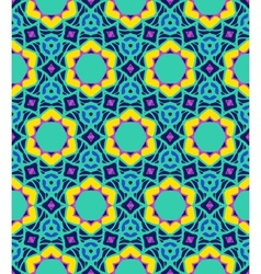 Bold arabesque pattern vector image