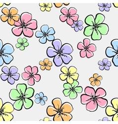 FlowersBackground4 vector image