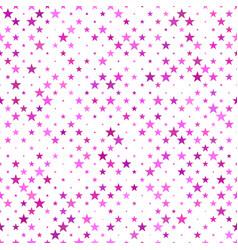geometric pentagram star pattern background vector image