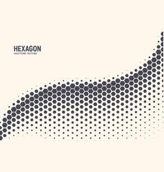 Hexagon abstract technology background vector