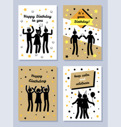 it s your happy birthday vector image