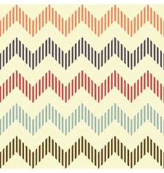 Seamless geometric wavy pattern vector image