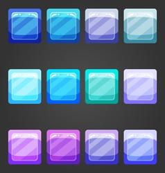 Shiny button 2 vector