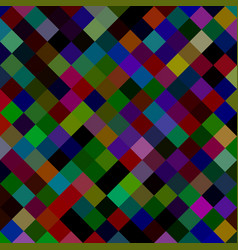 square pattern background from diagonal squares vector image
