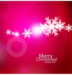violet christmas card vector image