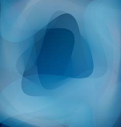 blue wave abstract backgrounds vector image vector image