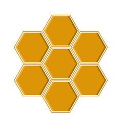 a yellow geometric vector image