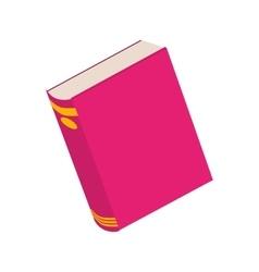 Academic book icon vector