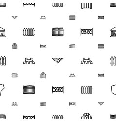 country icons pattern seamless white background vector image