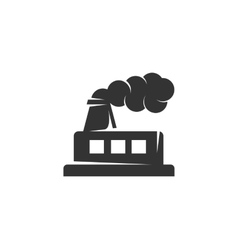 Factory icon isolated on a white background vector